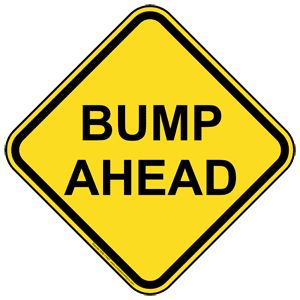 """Buy your """"BUMP AHEAD"""" sign here for only $10!!!"""