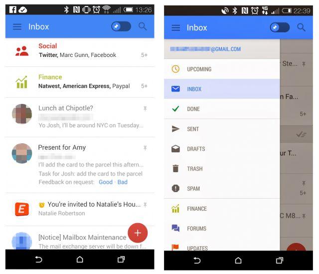Ni se pregăteşte un nou Gmail, cu o interfaţă total schimbată; Iată capturi de ecran!   ► http://mbls.ro/OeVKdW  Autor: Radu Iorga   #gmail #google #apk