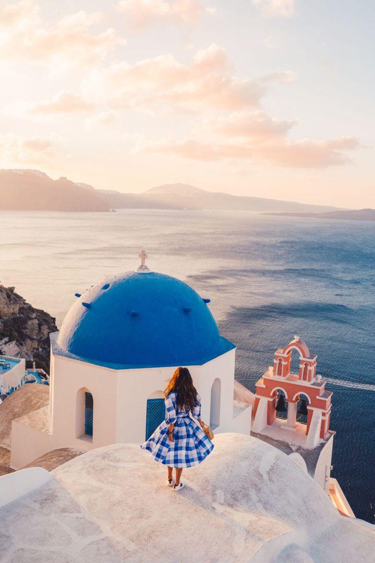 Most Instagrammable Spots In Santorini // NotJessFashion.com