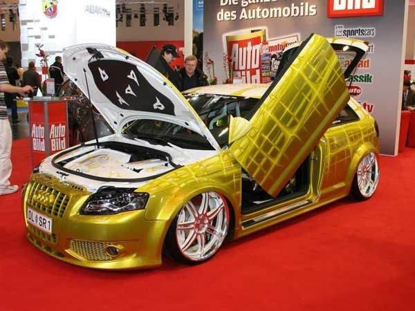 paint custom car custom paint on a modified audi a3 at the 2008 essen auto show wow dan 39 s. Black Bedroom Furniture Sets. Home Design Ideas
