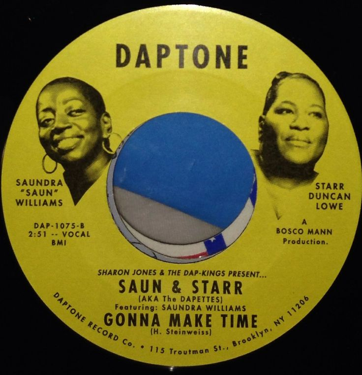 Viva pictures on 45's!  Currently touring with Sharon Jones and the Dap-Kings.