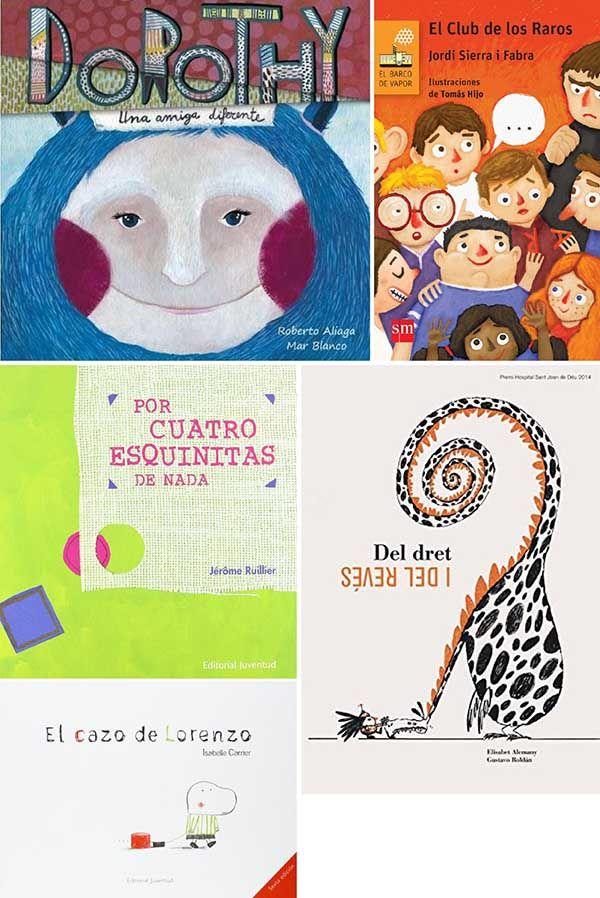 libros para niños sobre la diversidad