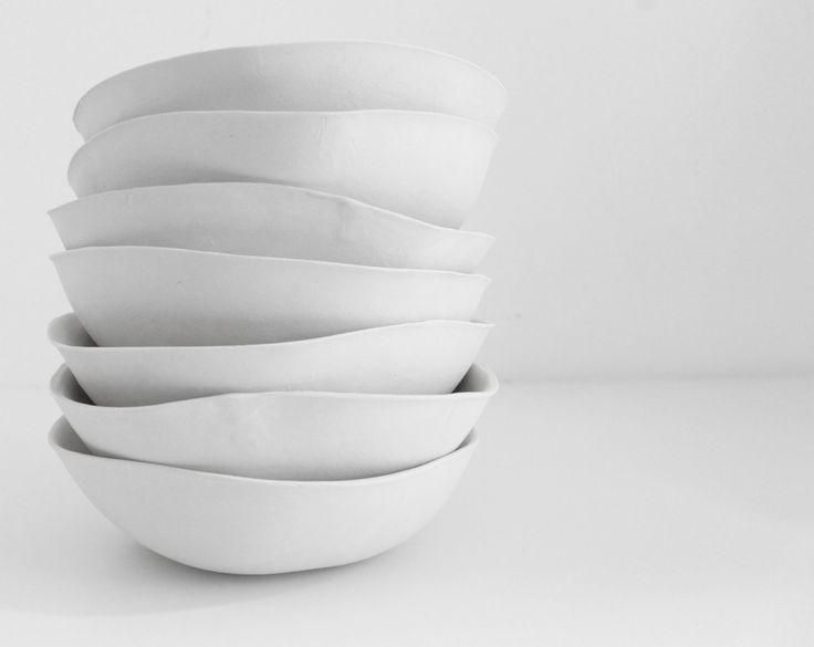 Josephine Visser ceramic project VOLLIES - Volumes are measured in Calories - www.josephinevisser.com