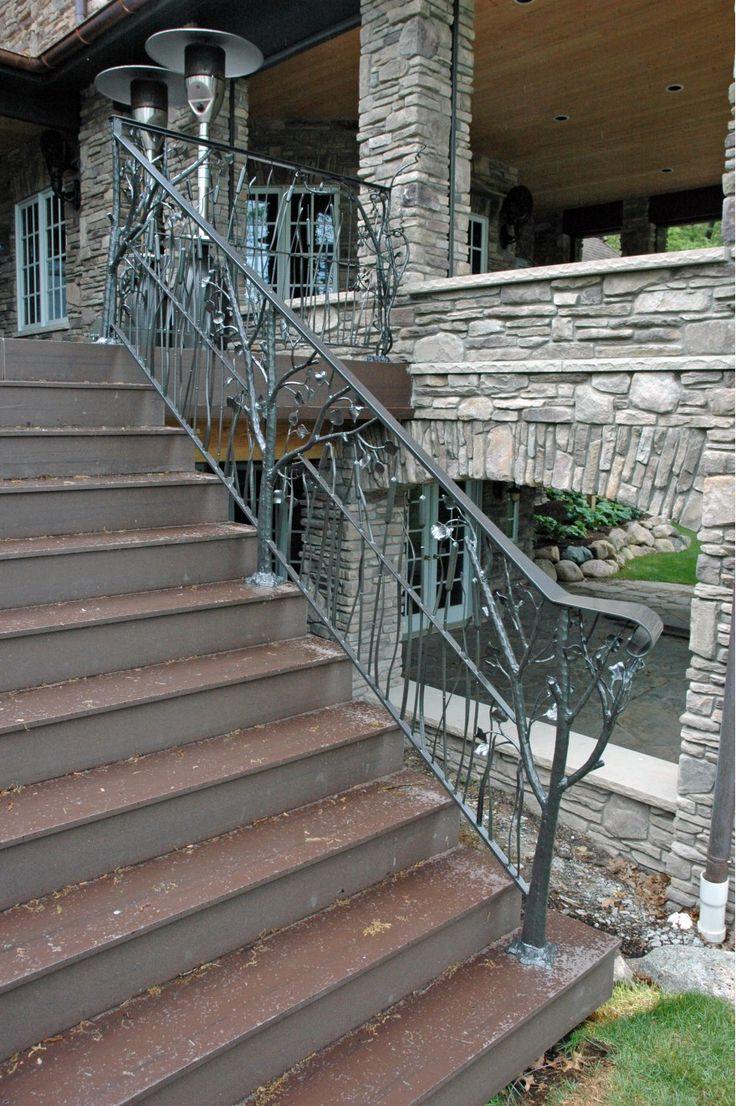 Best 27 Best Natural Wood Stair Rails Images On Pinterest 400 x 300
