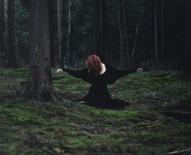 Nice dark forestiness. I like the light and atmosphere. By TheFoxAndTheRaven.deviantart.com on @deviantART