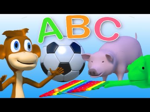 Phonics songs - ABC alphabet song for kids & toddlers - YouTube