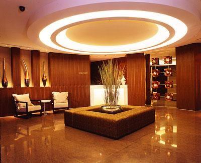 Concentric lighting scheme.