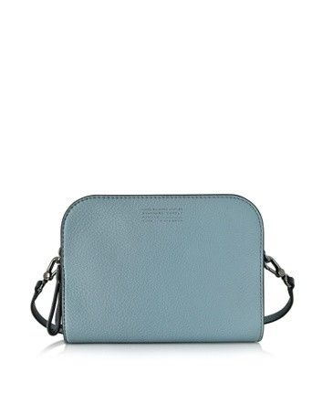TRICOLOR LUX THE DOUBLE ICE BLUE LEATHER CROSSBODY MARC BY MARC JACOBS