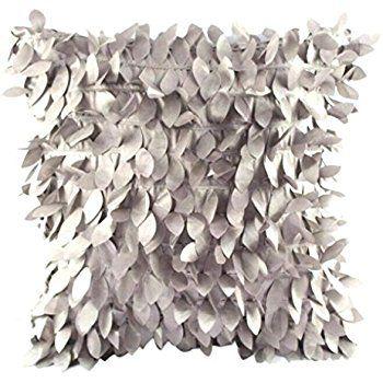 Sunnywill 43cm*43cm Blätter Square Kissenbezüge verlässt Feder Kissenhülle ( Kissen ist nicht im Preis inbegriffen ) (Grau): Amazon.de: Küche & Haushalt