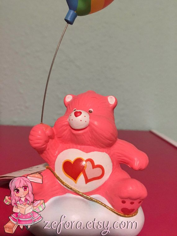 Love A Lot Vintage Care Bears Ceramic Collectible by zefora
