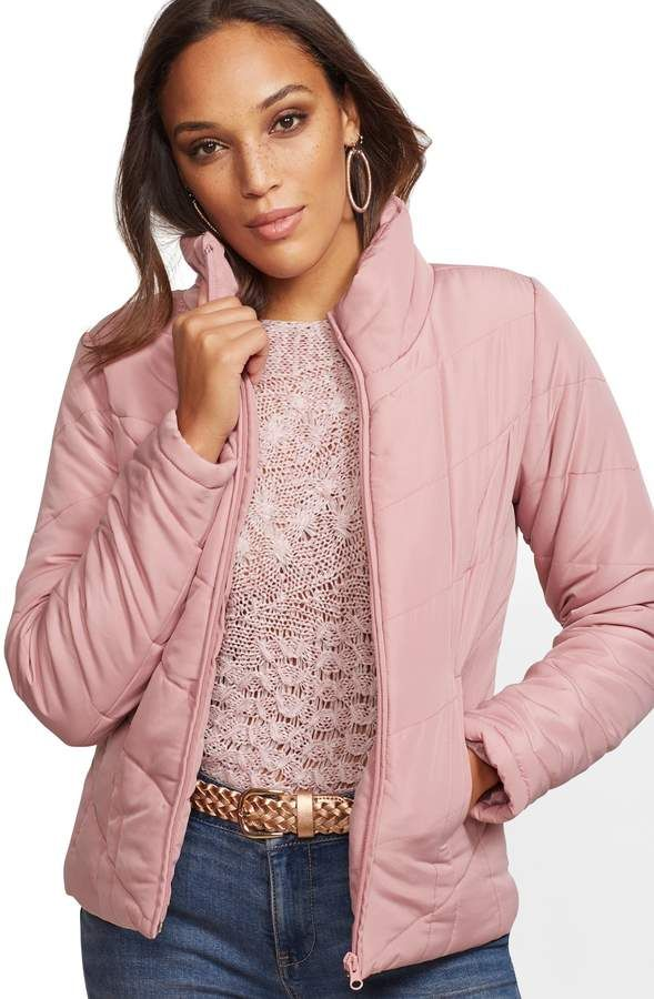 202a9510d New York & Co. Chevron Quilted Jacket #Chevron#York#Jacket ...