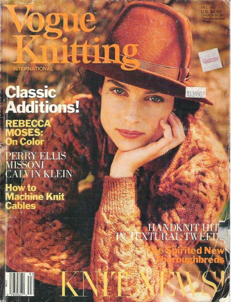 1989 Fall | Vogue knitting