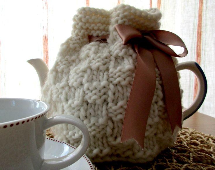 Textured Square Tea Cosy