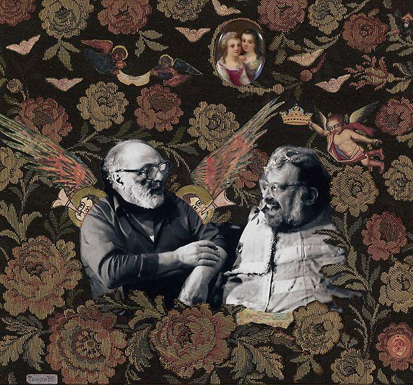 Сергей Параджанов. Коллаж «Старые друзья»