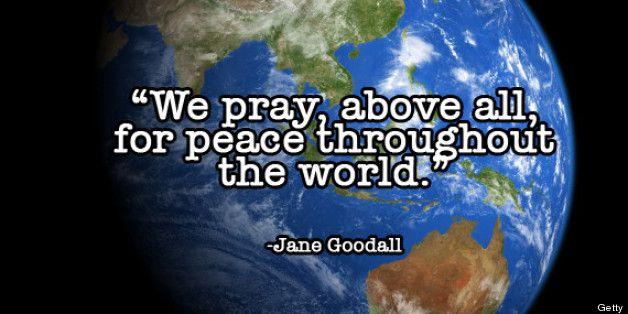 World peace prayer