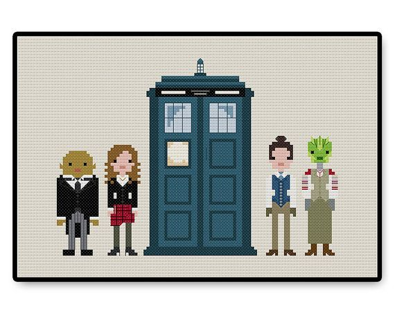 Doctor Who  Twelfth Doctor's Companions  Cross by HugSandwich