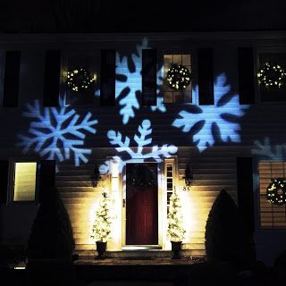Blog: Outdoor LED Snowflake Christmas Light Projector wi...