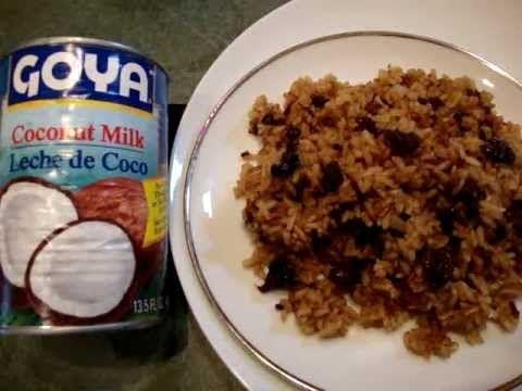 receta arroz con coco, leche de coco en lata, como hacer esta facil receta Costa Atlantica Colombia
