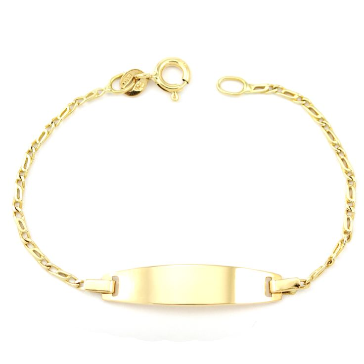 Just your average lovely name plate bracelet for you or your loved one