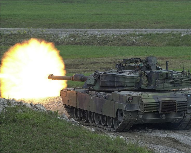 HD Wallpapers: 1280x1024 » Military » M1A1 abrams tank in action hd desktop widescreen amazing wallpaper
