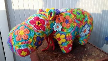 Heidi Bears Happypotamus. I've seen this around a lot but this is the first color combo that I really like.