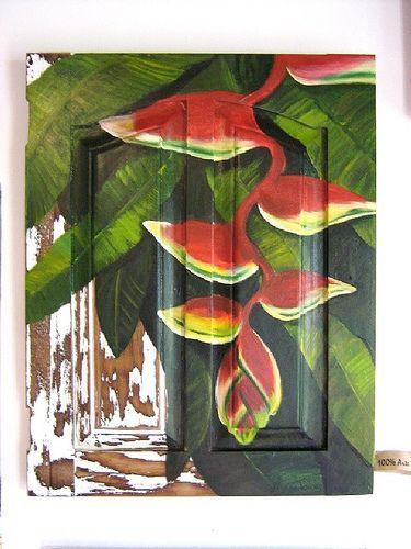 heliconia | esta é uma porta de armário 35 x 40 Heliconia | argina seixas | Flickr