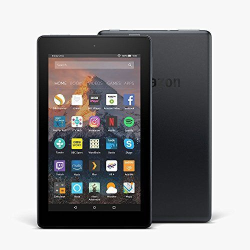 """All-New Fire 7 Tablet with Alexa, 7"""" Display, 8 GB, Black — with Special Offers by Amazon 4.3 out of 5 stars    2,757 customer reviews 