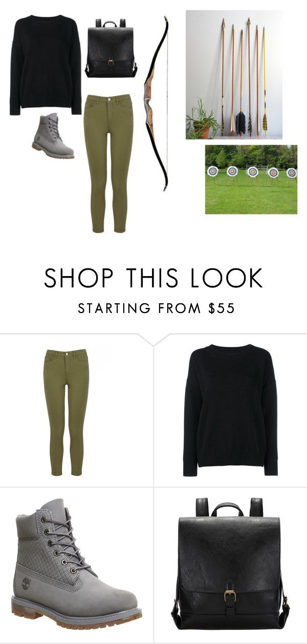 """Archer"" by barbi2003 on Polyvore featuring Warehouse, Frame Denim and Timberland"