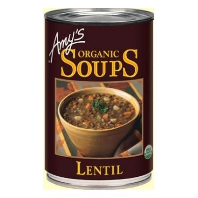 Amy's organic soups    Amy's Kitchen vindicated via support for Proposition 37 to label GMOs. Help support Amy's Kitchen brand and thank them for supporting honest food: http://www.naturalnews.com/037411_Amys_Kitchen_Proposition_37_GMO_labeling.html