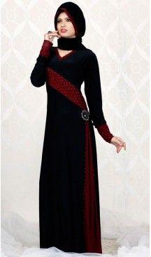 Black Lycra Islamic Hijab Abaya Styles Muslim Women Dresses   FH408565956 #trendy, #highquality, #islamic, #clothing, #women, #hijab, #fashion, #dresses, #jilbabs, #hijabs, #shawls, #islamic, #muslim, #burqa, #niqab, #wedding, #store, #boutique, #dubai, #pakistani, #mordern, #heenastyle, #readymade, #black, #color, @heenastyle