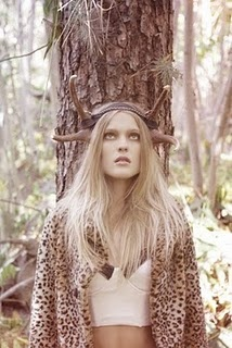 Channeling the Narnia in her.