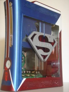 Superman themed Xbox 360
