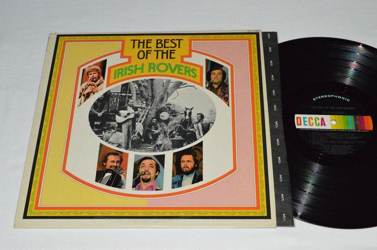 THE IRISH ROVERS The Best of LP 1972 Decca Records Stereo Vinyl