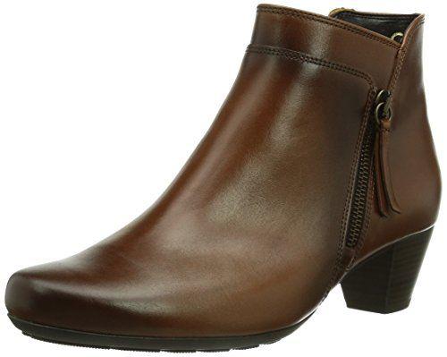Gabor Shoes 92.821.93 Damen Kurzschaft Stiefel, Braun (sattel/EF (Micro)), 39 EU (6 Damen UK)