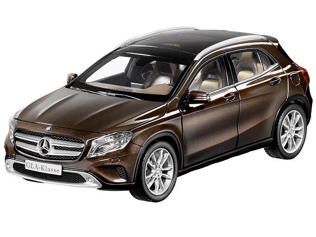 GLA-Class orient brown - B66960268 Progressive in design, serene in day-to-day motoring and with off-road capability: as a wanderer between automotive applications, the Mercedes-Benz GLA impressively reinterprets the compact SUV segment. It lightfootedly masters all day-to-day challenges and is also robust enough for off-road excursions.