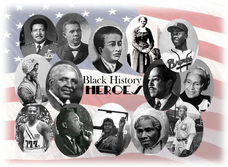 the best black history month uk ideas black photo collage of historic black individuals in american history