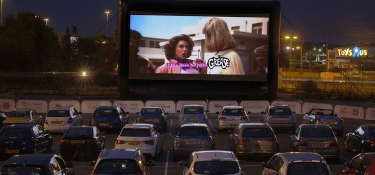 Drive through cinema - one of our top 20 london date ideas! #london #dates #cinema