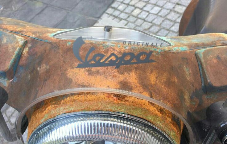 Custom motocycles, Rat Vespa, #customlook #13vespa #handmade