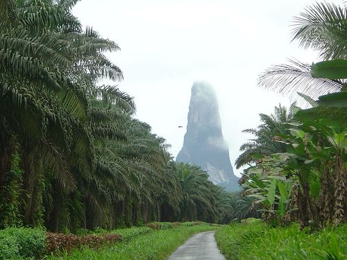 Sao Tome and Principe - Gulf of Guinea of of the west coast of Africa