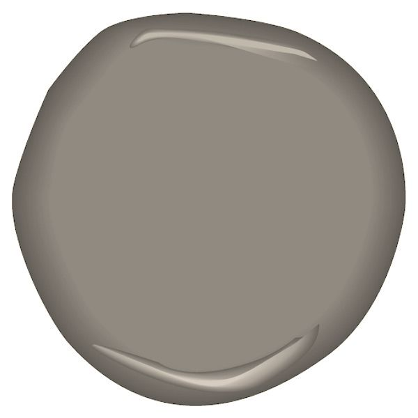 Castle Gate by Benjamin Moore. LOVE this color