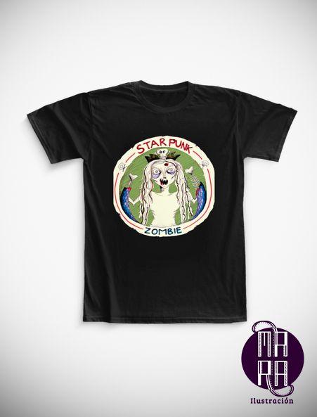 Camiseta StarPunk para hombre Colores disponibles: Blanco - Negro Tallas disponibles: S - M - L -XL - XXL http://camaloon.es/descubre/artistas/mara-ilustracion/creaciones/black-cat-white-cat/camisetas-personalizadas/camisetas-personalizadas-hombre/productos