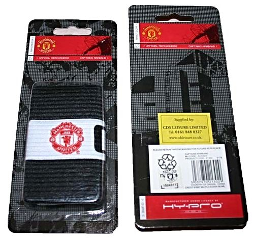 Manchester United Captains Armband Tag