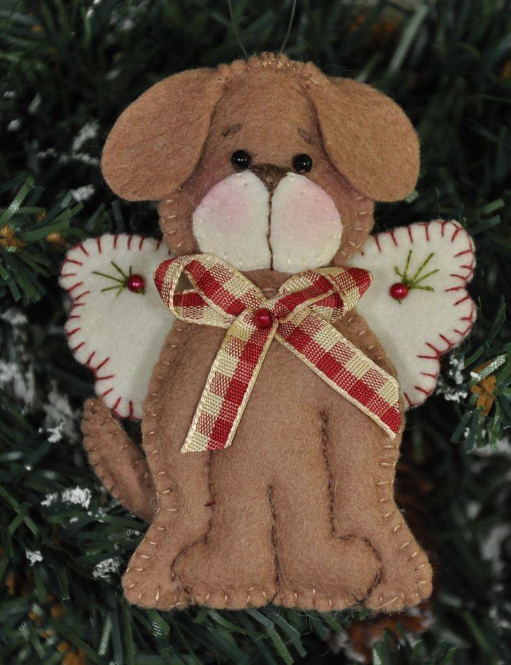 Angel Puppy Ornament