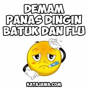 Gambar DP BBM Flu Berat Bergerak - 100 Gambar DP BBM Lucu, Unik ...