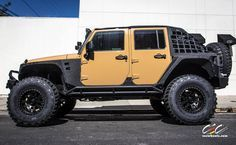 2014 Custom Jeep Wrangler by CEC Wheels
