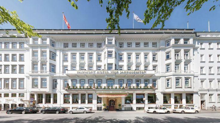 Fairmont Hotel Vier Jahreszeiten Hamburg @ Germany .