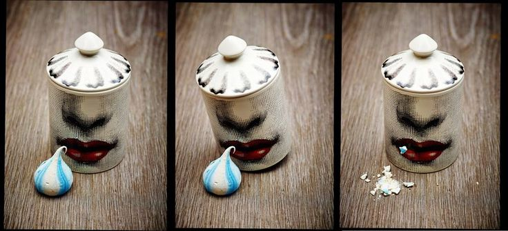 Little bit of fun on the photoshoot with last week ... even the Fornasetti wants a piece of Madame Meringue