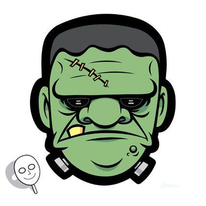 Frankenstein Mask | Printables | Spoonful