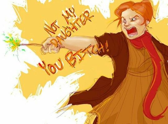 Molly Weasley  Battle of Hogwarts