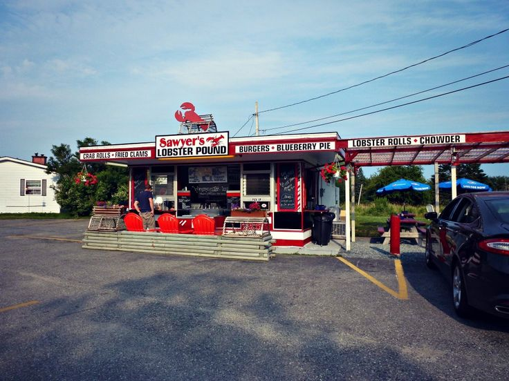 Sawyer's lobster Pound - Best Lobster Roll - Southwest Harbor - Acadia Parc - Maine